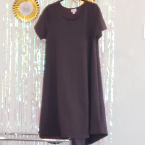 Lularoe Carly Dark Brown M